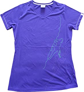 Berghaus argentium Womens Ascent T-Shirt A/F 420876N17 US 10 Purple