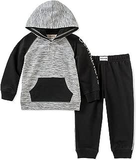 Calvin Klein Baby Boys 2 Pieces Hooded Jog Pant Set-Buttons