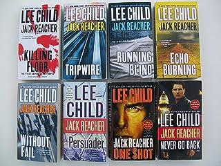 Jack Reacher Series (Set of 8) Killing Floor, Tripwire, Running Blind, Echo Burning, Without Fail, Persuader, One Shot, Ne...