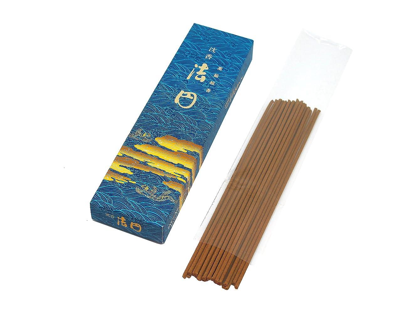 ワンダー虚弱立法gyokushodo Agarwood / Aloeswood / Oud Japanese Incense Sticks jinko Hoenスモールパックトライアルサイズ5.5インチ30?Sticks日本製