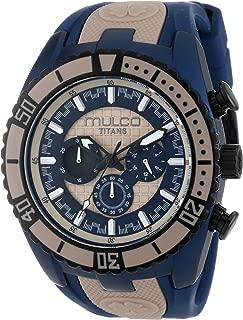 Mulco Women's MW5-1836-114 Year-Round Analog Quartz Blue Watch
