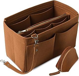 Felt Purse Organizer Insert Bag Organizer for Tote Purse Organizer for Handbags Tote Bag Organizer Insert 4in1