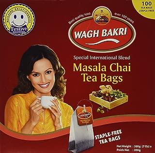 Wagh Bakri Masala Chai 100'S (Pack of 2)
