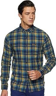 LEE COPPER Men's Checkered Regular Fit Casual Shirt