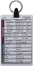 5 Card Badge Pocket Card Reference Set Keychain for Nurse Medic