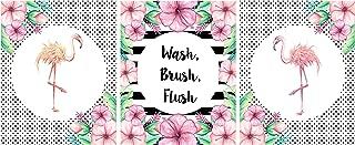 Best flamingo bathroom wall decor Reviews
