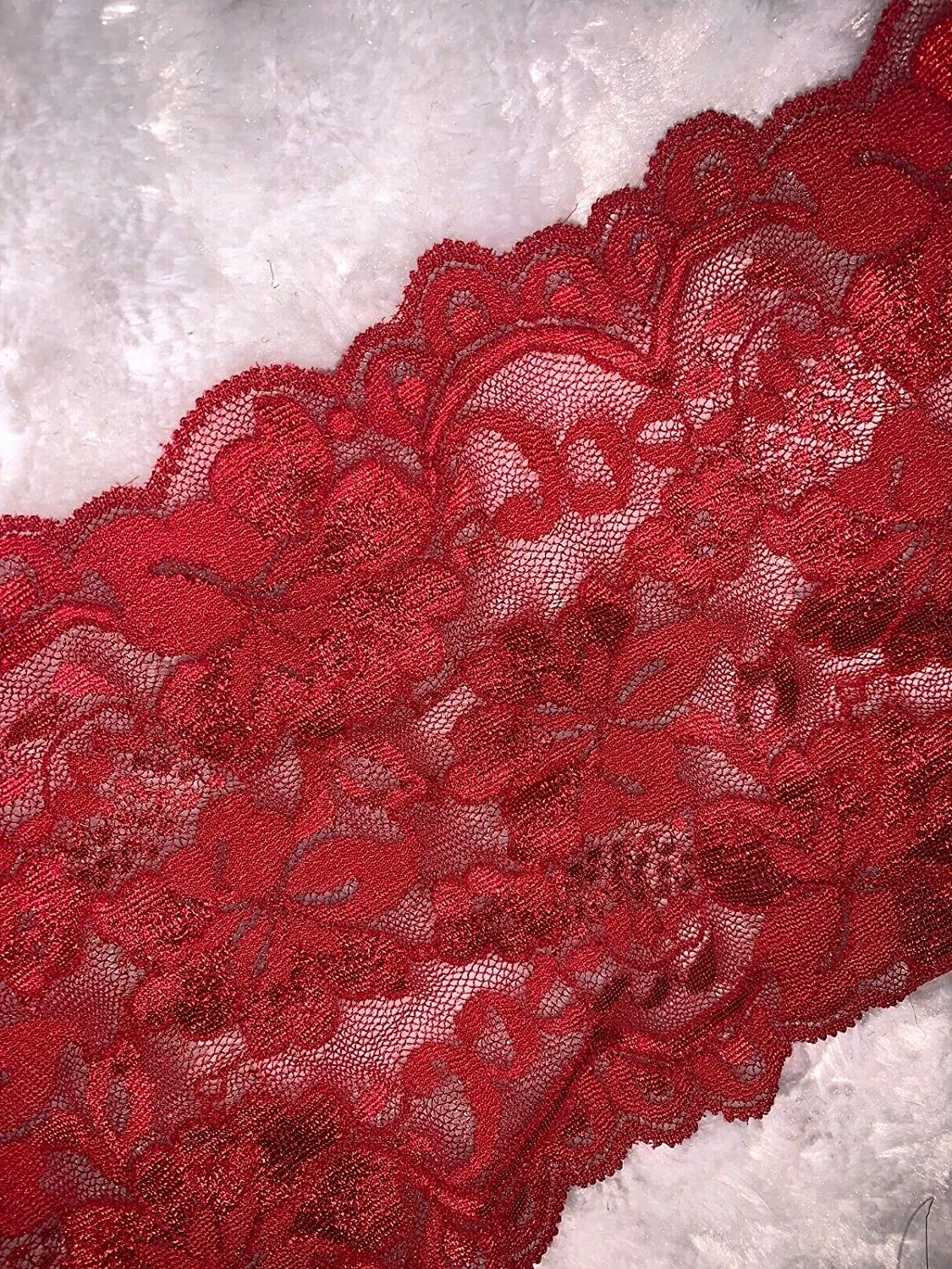 5 Yards Dark Cherry Sale special price Red Lingerie 5.25