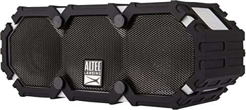 Altec Lansing Imw477 Mini LifeJacket 2 Bluetooth Speaker, IP67 Waterproof, Shockproof, Snowproof and IT Floats Rating, with 10 Hours of Battery Life, 30 Foot Wireless Range, Cool Gray