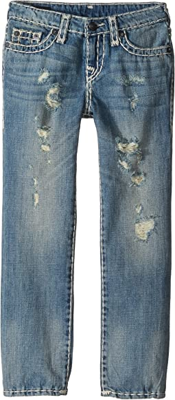 Geno Super T Jeans in Muddy Blue Wash (Toddler/Little Kids)
