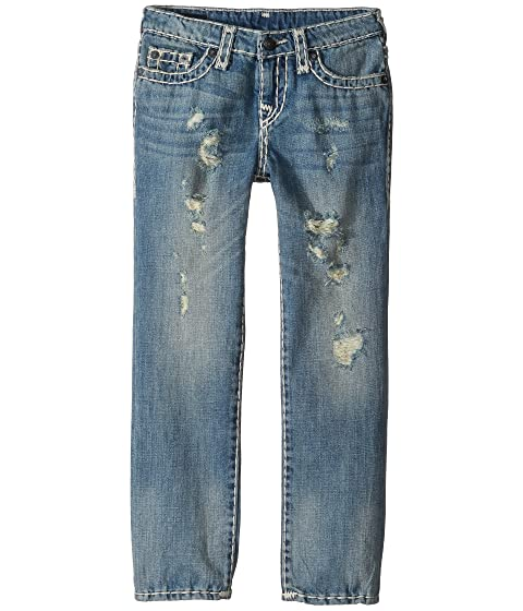 d498ea7ef True Religion Kids Geno Super T Jeans in Muddy Blue Wash (Toddler/Little  Kids)
