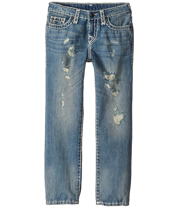 11369e32 True Religion Kids Geno Super T Jeans in Muddy Blue Wash (Toddler ...