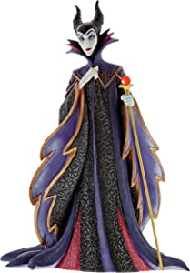"Enesco Disney Showcase Sleeping Beauty Maleficent, 8.75"", Multicolor Stone Resin Figurine"
