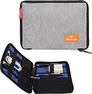 Wooum Organizer of Gadgets and Portable Devices and Mobile Power Bank Bag Electronic Accessory Storage Bag USB Cable Stora...