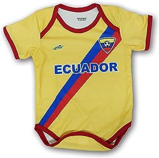 8111037a8a4 Arza Soccer Ecuador Soccer Baby Outfit Onesie mameluco