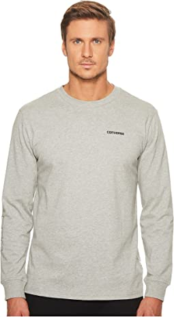 Converse - Long Sleeve Graphic Wordmark Tee