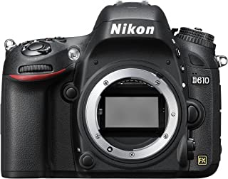 Nikon D610 Body Only - 24.3 MP, SLR Camera, Black