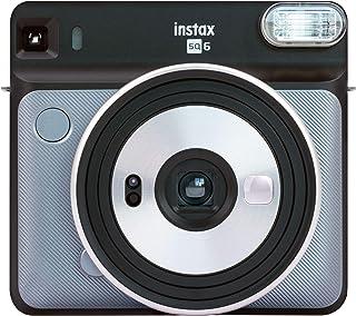 Fujifilm Instax SQ6 - Cámara analógica instantánea Formato Cuadrado Color Gris (Grafito)