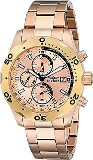 Invicta 17755 Specialty - Reloj analógico de cuarzo japonés para hombre, color oro rosa
