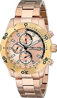 Men's 17755 Specialty Analog Display Japanese Quartz Rose Gold Watch