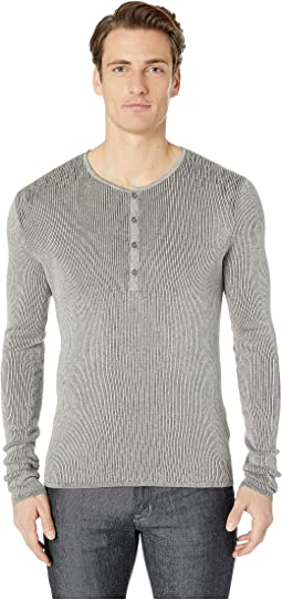 Long Sleeve Henley Y2530U4