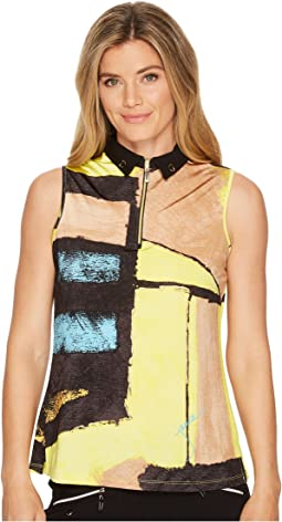 Jamie Sadock Osaka Print Sleeveless Top