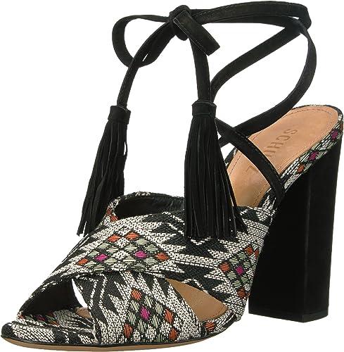 SCHUTZ Wohommes DAMILA Heeled Sandal, noir noir Multi, 10 M US  prix bas tous les jours