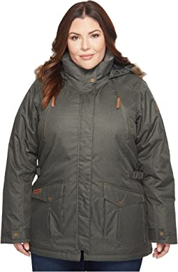 Columbia - Plus Size Barlow Pass 550 TurboDown Jacket
