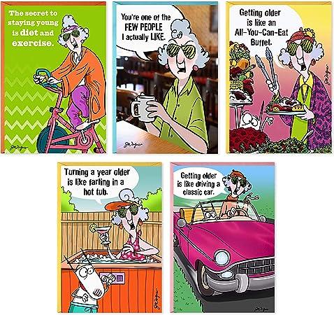 Hallmark Maxine Funny Birthday Cards Assortment