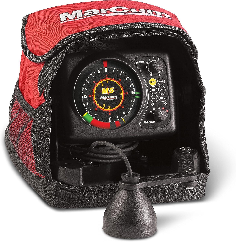 MarCum Flasher System M5 Flasher System, Black Red