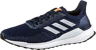 adidas Solar Boost 19 Men's Running Shoe, Collegiate Navy/Blue Tint/Solar Orange, 9.5 US