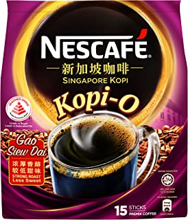 Nescafe Instant Singapore Kopi - Kopi-O (Gao Siew Dai) Coffee 15 X 14g
