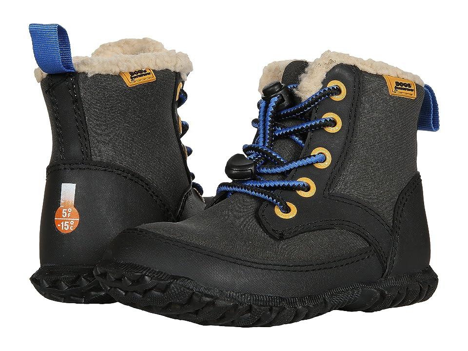 Bogs Kids Skyler (Toddler/Little Kid) (Black Multi) Boys Shoes