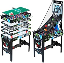 MD Sports Multi Game Combination Table Set – Available in Multiple Styles