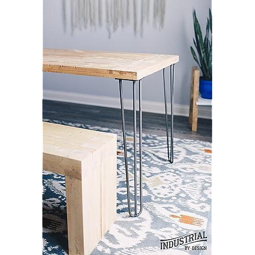 Desk legs wood Solid Wood Industrial By Design 28 Wayfair Wood Table Legs Amazoncom