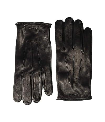 COACH Tech Napa Gloves (Black) Gore-Tex Gloves