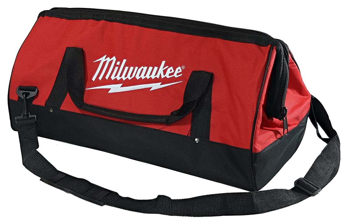 Milwaukee Bag 23x12x12nch Heavy Duty Canvas Tool Bag 6 Pocket (Basic) jjgicxhptvuwti