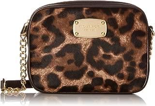 Hamilton Leopard Print Haircalf Small Cross-body Bag