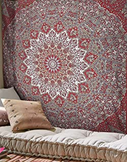 Best maroon and grey tapestry Reviews