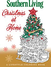Southern Living Christmas at Home: A Lifestyle Coloring Book