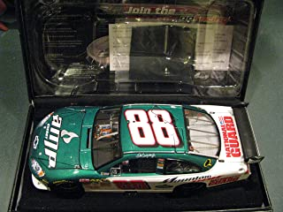 Top of the Line RCCA Elite Dale Earnhardt Jr #88 2008 AMP Energy Green & White Monte Carlo Car of Tomorrow COT Rear Wing Front Splitter 1/24 Scale Motorsports Authentics AKA Action Racing Collectables ARC RCCA Elite Limited Edition car Only 5000 Made...100 Per State! Individually Serialized