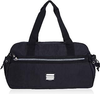 Suvelle Lightweight Small Duffle Weekend Handbag Luggage Gym Sports Travel Duffel Tote 2067