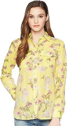LAUREN Ralph Lauren Floral Button Down Shirt