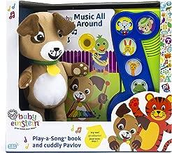 Baby Einstein - Music All Around Little Music Note with Pavlov the Dog Plush - PI Kids