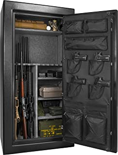 BARSKA Fireproof Fire Vault Rifle Gun Safe Keypad Lock Cabinet (12 Cubic feet)