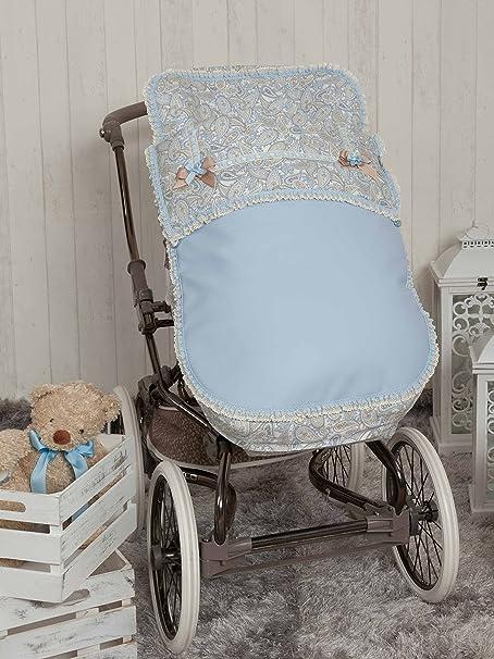 Babyline Caramelo Saco Para Silla De Paseo Color Azul Amazon Es Bebé