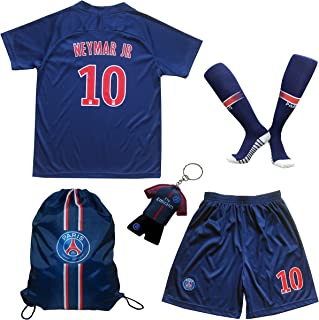LES TRICOT 2018/2019 Paris Home #10 NEYMAR JR. Football Futbol Soccer Kids