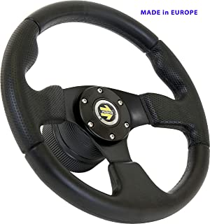 [DTi M10] DoradoTuning Volante Deportivo Ø 320 mm Rally/Deriva/Carrera/Universal/Negro