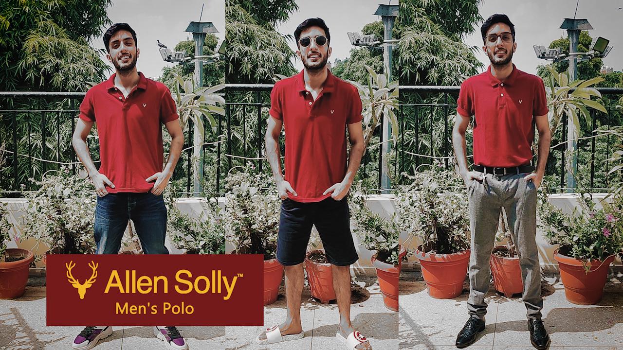 Allen Solly Men's Polo 2 91ssq LlHsL