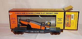 MTH Trains 30-76478 Long Island Railroad Flat Car with Airplane 491902 LIRR O