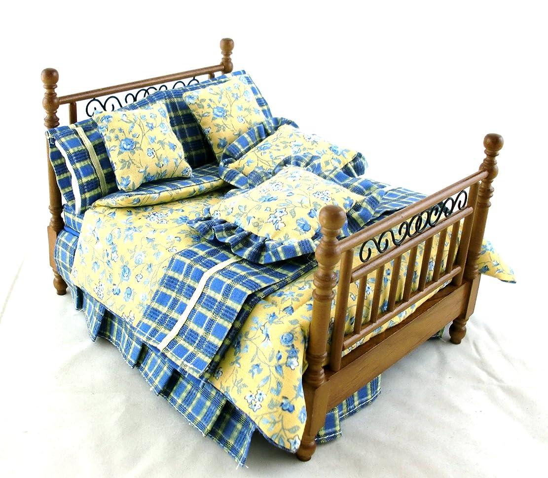 プレミアムふさわしいメルボルンDollhouse Miniature 4-Pc. Beaufort Bedroom Set